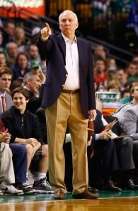 Gregg Popovich coaching